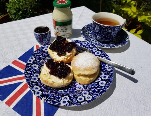 Cream Tea: Scones, Clotted Cream & Marmelade
